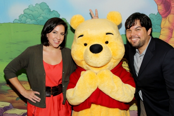 Photo Flash: Robert Lopez, Kerry Butler, Edie Falco et al. Attend WINNIE THE POOH Premiere!