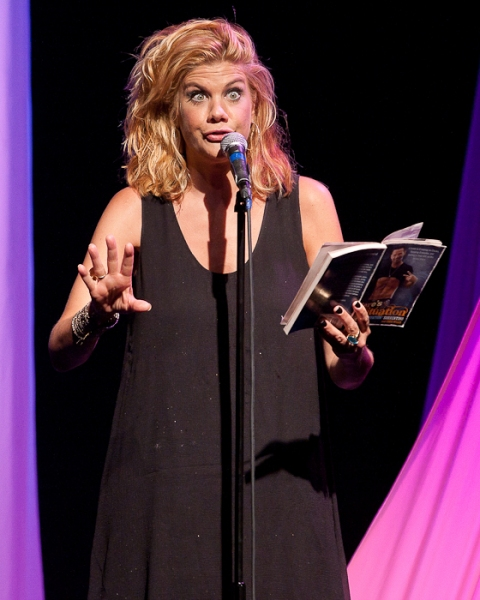 Kristen Johnston at Michael Urie, Kristen Johnston & More in CELEBRITY AUTOBIOGRAPHY - The Show