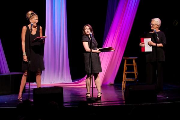 Kristen Johnston, Rachel Dratch, and Sharon Gless