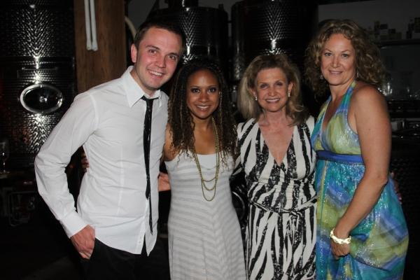 Shane Scheel, Tracie Thoms, Congress Woman Caroline Maloney and Siovhan
