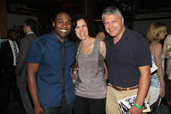 Rogelio Douglas Jr., Joellen Surace and Tony Surace Photo