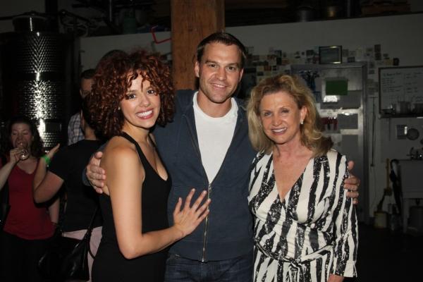 Janet Dacal, Darren Ritchie and Congress Woman Caroline Maloney