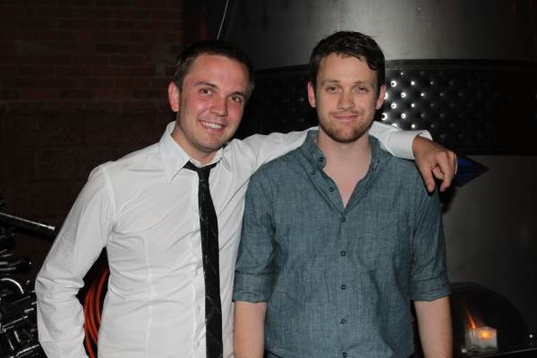 Shane Scheel and Michael Arden at Janet Dacal, Barrett Foa, Tracie Thoms, Michael Arden & More at FOR THE RECORD:JOHN HUGHES Concert!