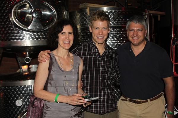 Joellen Surace, Barrett Foa and Tony Surace Photo