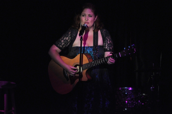 Shanna Sharp at Chase, Andreas et al. Sing for RAINN Benefit