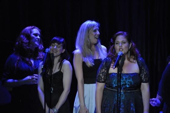 Celina Carvajal, Emily McNamara and Shanna Sharp