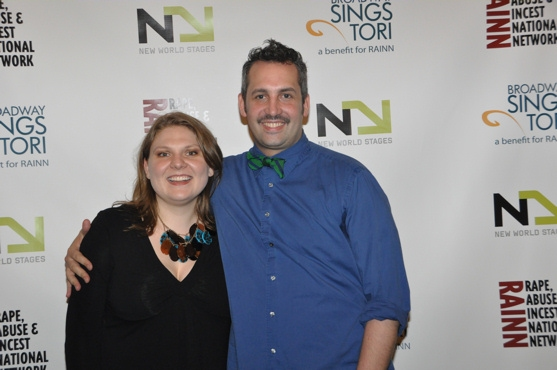 Colleen Harris and Ben Cameron at Chase, Andreas et al. Sing for RAINN Benefit
