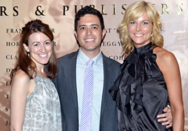 Kate Weatherhead, Adam Gwon and Lisa Brescia