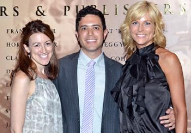 Kate Weatherhead, Adam Gwon and Lisa Brescia at Adam Gwon, Michelle Elliott Win 2011 Kleban Prizes