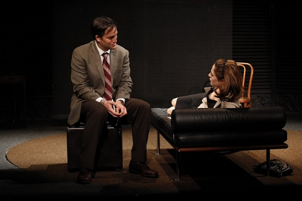 Jeremy Stiles Holm as Dr. Lublitz and Marina Squerciati as Cristina