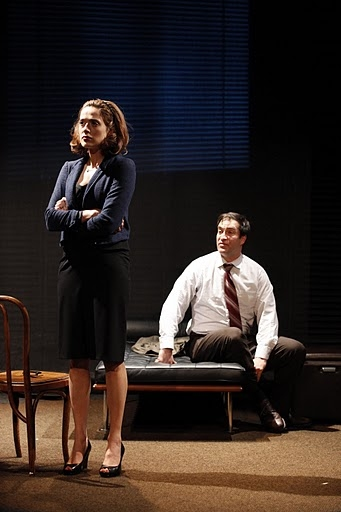 Marina Squerciati as Cristina and Jeremy Stiles Holm as Dr. Lublitz