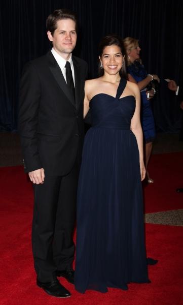 Ryan Piers Williams and America Ferrera Photo