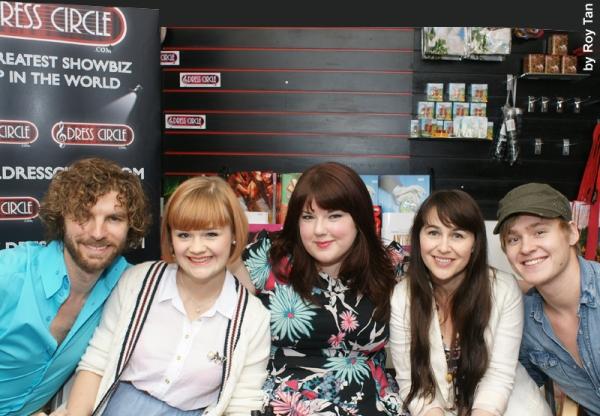 Lance Horne, Lucy May Barker, Leanne Jones, Lance Horne, Annalene Beechey, Ross Hunte Photo