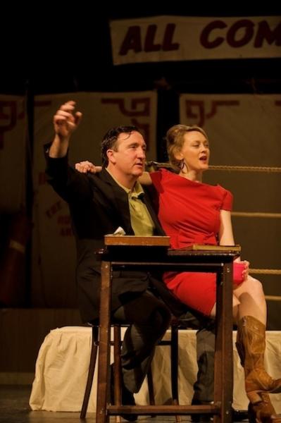 Gary Lydon and Simone Kirby  Photo