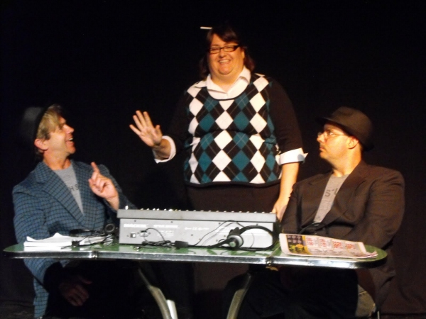 Stephen Woosley as The Gator, Mary Sink as Candy and Greg MCgill as Bobo