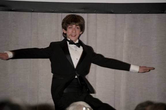 Photo Flash: BILLY ELLIOT Performs at Duke of Edinburgh's International Award and Young Americans' Challenge Gala