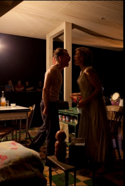 Sam Rockwell and Jessica Hecht at Rockwell & Hecht in Williamstown's A STREETCAR NAMED DESIRE
