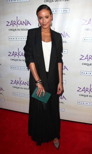 Selita Banks attending the Opening Night Performance of The New Cirque Du Soleil Acrobatic Spectacle 'Zarkana'  in New York City.