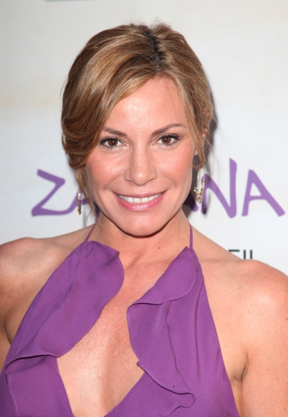 Countess Luann de Lessep attending the Opening Night Performance of The New Cirque Du Soleil Acrobatic Spectacle 'Zarkana'  in New York City.