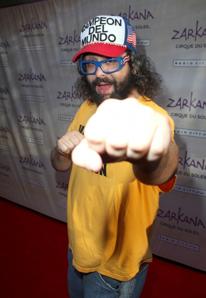 Judah Friedlander attending the Opening Night Performance of The New Cirque Du Soleil Acrobatic Spectacle 'Zarkana'  in New York City. at ZARKANA Opens at Radio City Music Hall!