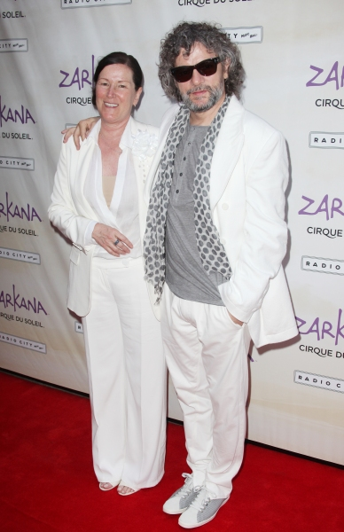 Line Tremblay & Francois Girard attending the Opening Night Performance of The New Cirque Du Soleil Acrobatic Spectacle 'Zarkana'  in New York City.