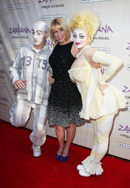 Carrie Keagan attending the Opening Night Performance of The New Cirque Du Soleil Acrobatic Spectacle 'Zarkana'  in New York City. at ZARKANA Opens at Radio City Music Hall!