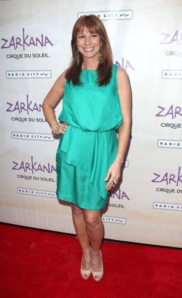 Jill Zarin attending the Opening Night Performance of The New Cirque Du Soleil Acrobatic Spectacle 'Zarkana'  in New York City.