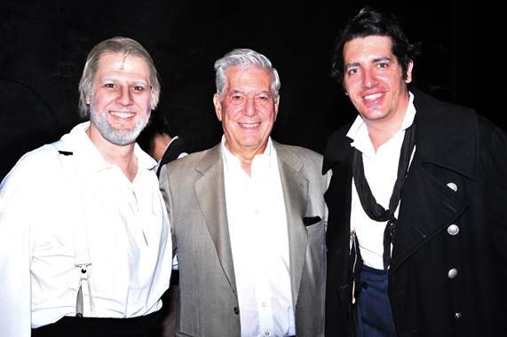 Geronimo Rauch, Vargas Llosa e Ignasi Vidal