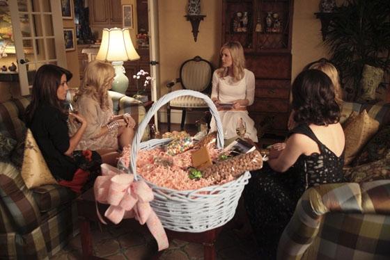 Marisol Nichols, Jennifer Aspen, Leslie Bibb and Miriam Shor  at First Look at Kristin Chenoweth in GOOD CHRISTIAN BELLES!