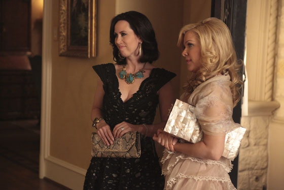 Miriam Shor and Jennifer Aspen