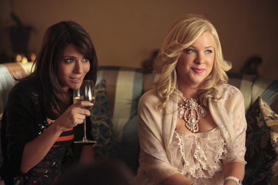 Marisol Nichols and Jennifer Aspen at First Look at Kristin Chenoweth in GOOD CHRISTIAN BELLES!