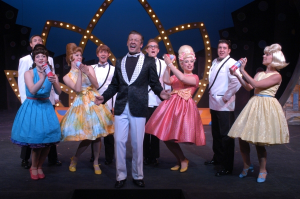 Nick Henderson as Corny Collins and Company