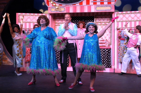 Jim J. Bullock as Edna and Megan Kane as Tracy  at BWW Reviews:  Arvada Center's HAIRSPRAY - So Alive!
