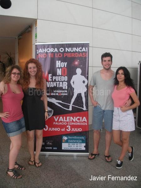 Cristina Rueda, Cristina Murillo, Xavi Navarro y Tania Garcia