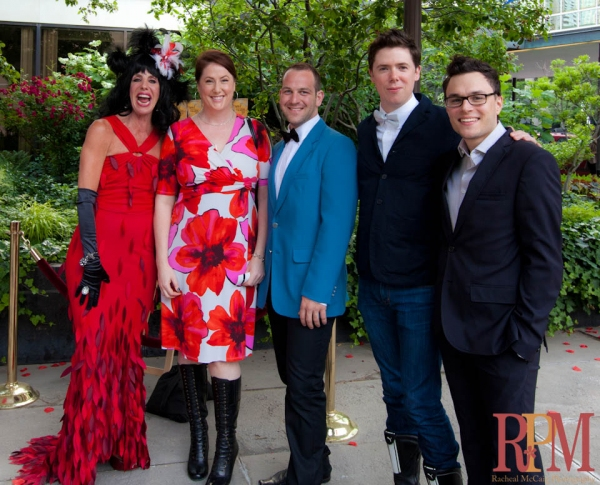 Elley-Ray Hennessy,Shelley Simester, Justin Bott, Damien Atkins, Andrew Kushnir at The 2011 Dora Mavor Moore Awards