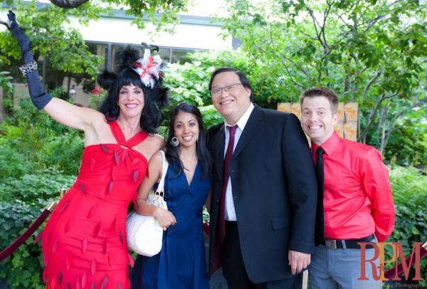 Elley-Ray Hennessy, Sarena Parmar, Derrick Chua and Colin Doyle Photo