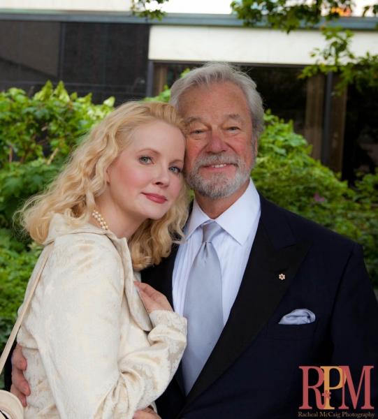 Leah Pinsent and Gordon Pinsent