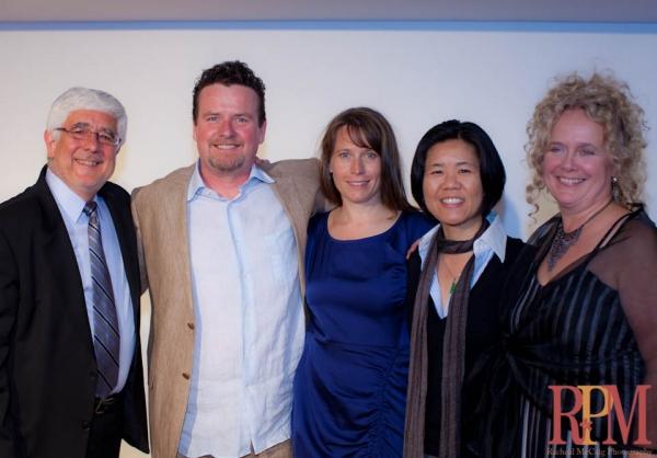Dan Brambilla, Jim Roe, Meredith Potter, Councillor Kristyn Wong-Tam, Jacoba Knaapen  Photo