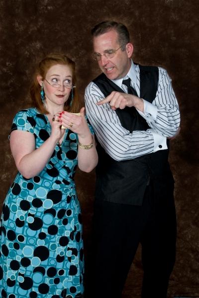 L-R:  Kelly Reeves and Robert Kramer