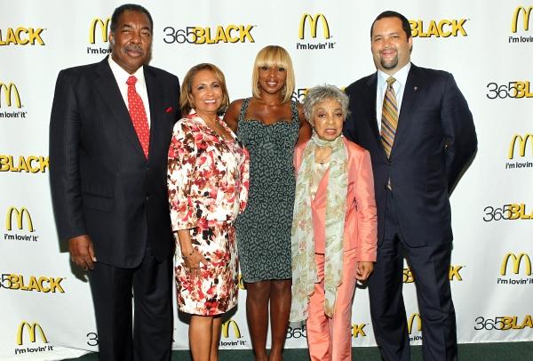365Black Award Honorees, Civil rights activist and McDonald's owner/ Photo