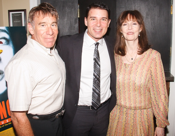Stephen Schwartz, Rich Affannato, and Barbara Feldon