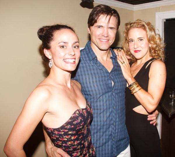 Ashlee Dupre, Brent Barrett, and Jenn Harris