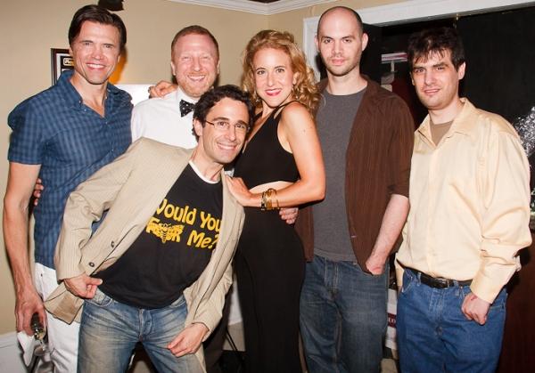 Brent Barrett, Hunter Bell, Christopher Gattelli, Jenn Harris, Al Kaplan, and Jon Kaplan
