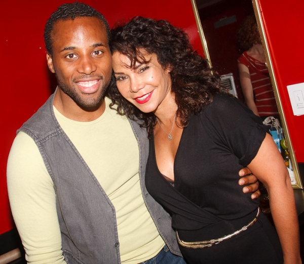 Maurice Murphy and Daphne Rubin-Vega at Don't Quit Your Night Job Returns!