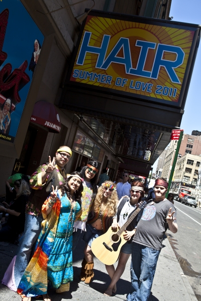 Photo Coverage: HAIR Celebrates Return to Broadway with Ticket Giveaway!