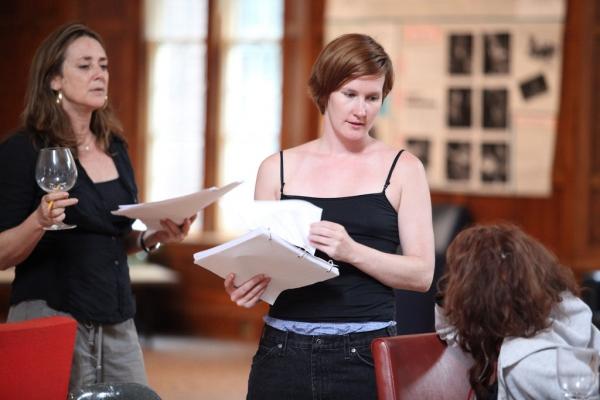 Talia Balsam (Ali), Keira Keeley (Parker), and Deirdre O'Connell (Linda)