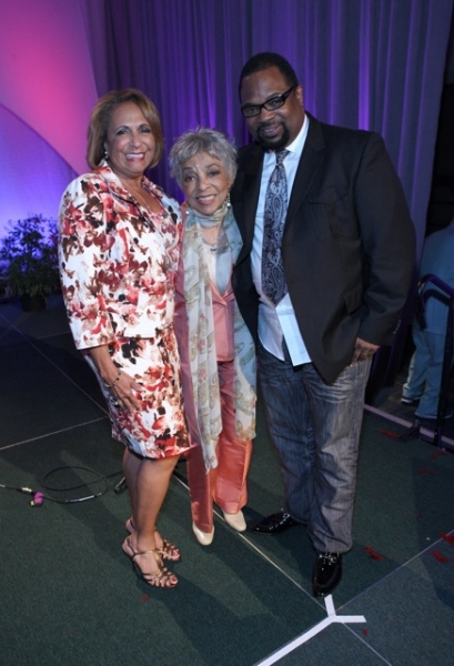 Radio One network founder Cathy Hughes, Broadway and screen actress Ruby Dee, Grammy  Photo