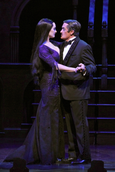 Photo Coverage: First Look at Production Shots of Brooke Shields in THE ADDAMS FAMILY!