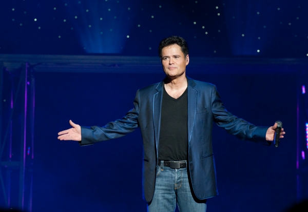 Donny Osmond at DONNY & MARIE Light Up Toronto Skyline...