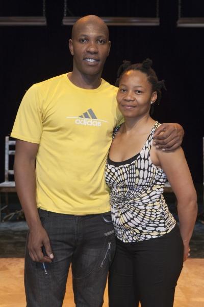 Sandile Matsheni and Jabulile Tshabalala